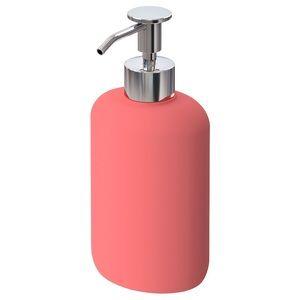 Soap dispenser, light red